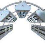 Tubular Radiant Heater Reflective housing with Tubular heater
